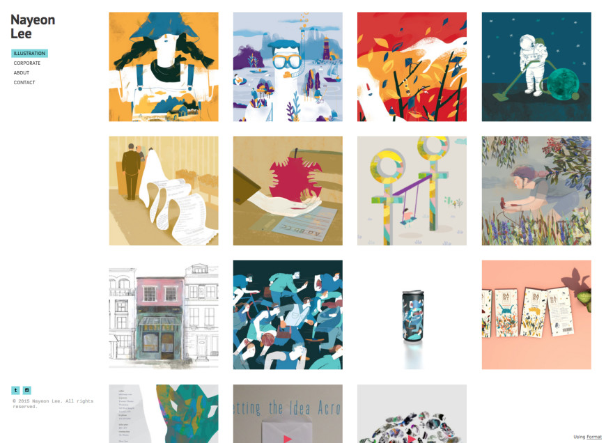 20 Incredible Illustration Portfolio Examples You Should Bookmark