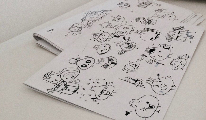 Drawing Line Xcode : Make your own stickers for messenger: how i got mine published to