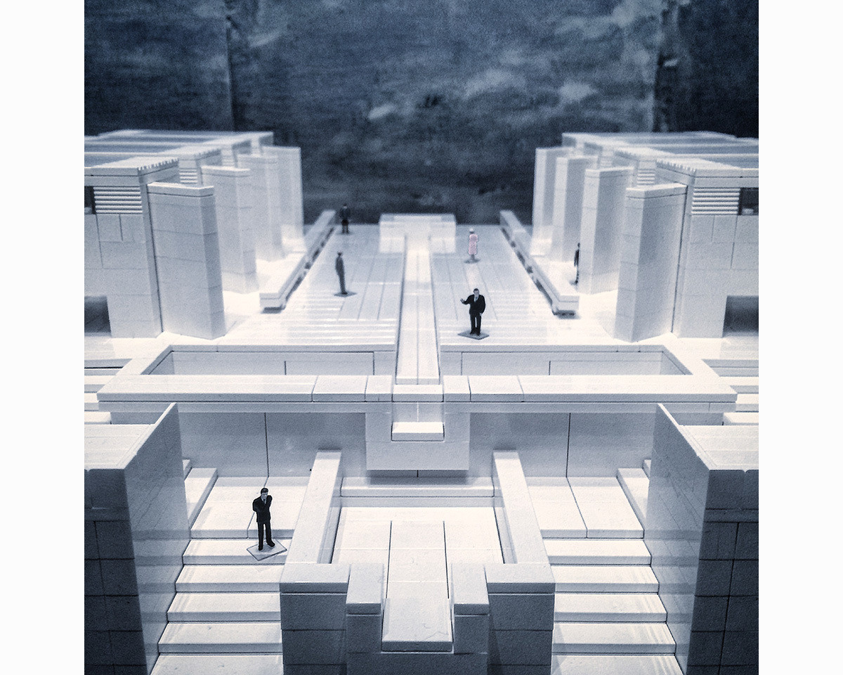 Modern Architecture Lego arndt schlaudraff builds intricate brutalist architecture with lego