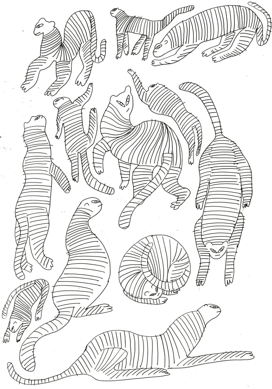 You Can Find Fairhursts Full Collection Of Tiger Drawings Here