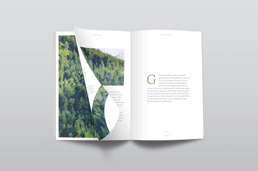 150 free book and logo mockups for graphic designers photorealistic magazine mockup pronofoot35fo Images