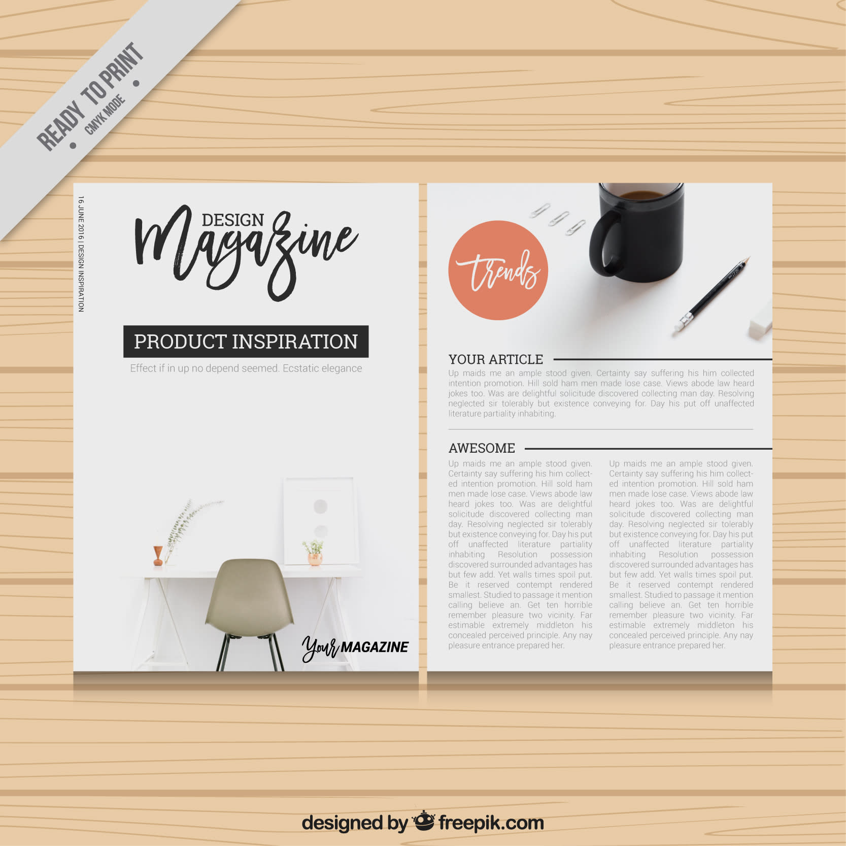 table graphic design inspiration examples design magazine template 150 free book and logo mockups for graphic designers