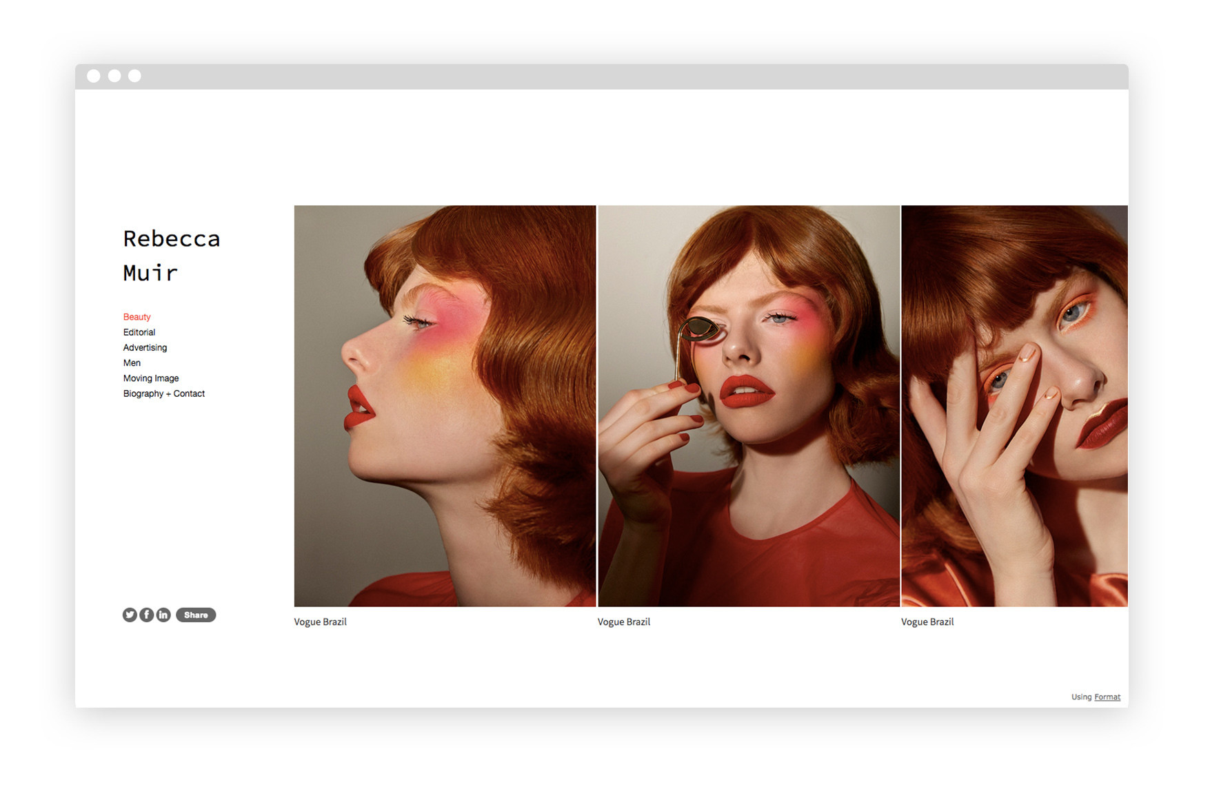 Get inspired by these 20 makeup artist portfolios.