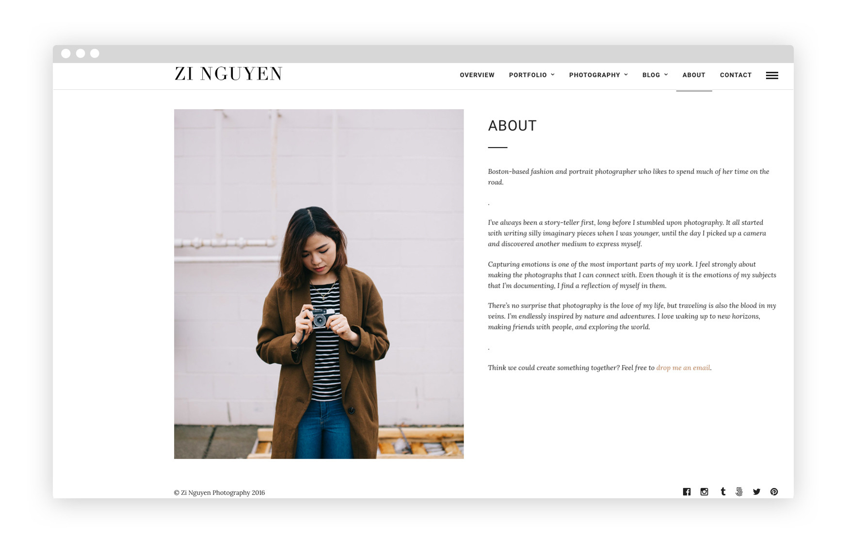 Fashion magazine template online