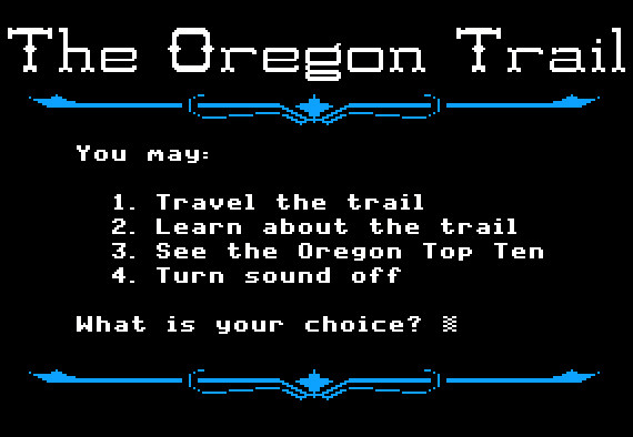 you have died of dysentery exploring the oregon trail s design history