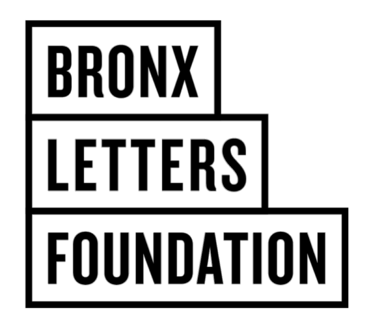 Logo: BRONX LETTERS FOUNDATION LOGO