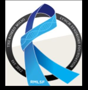 Logo: Romeo Milio Lynch Syndrome Foundation