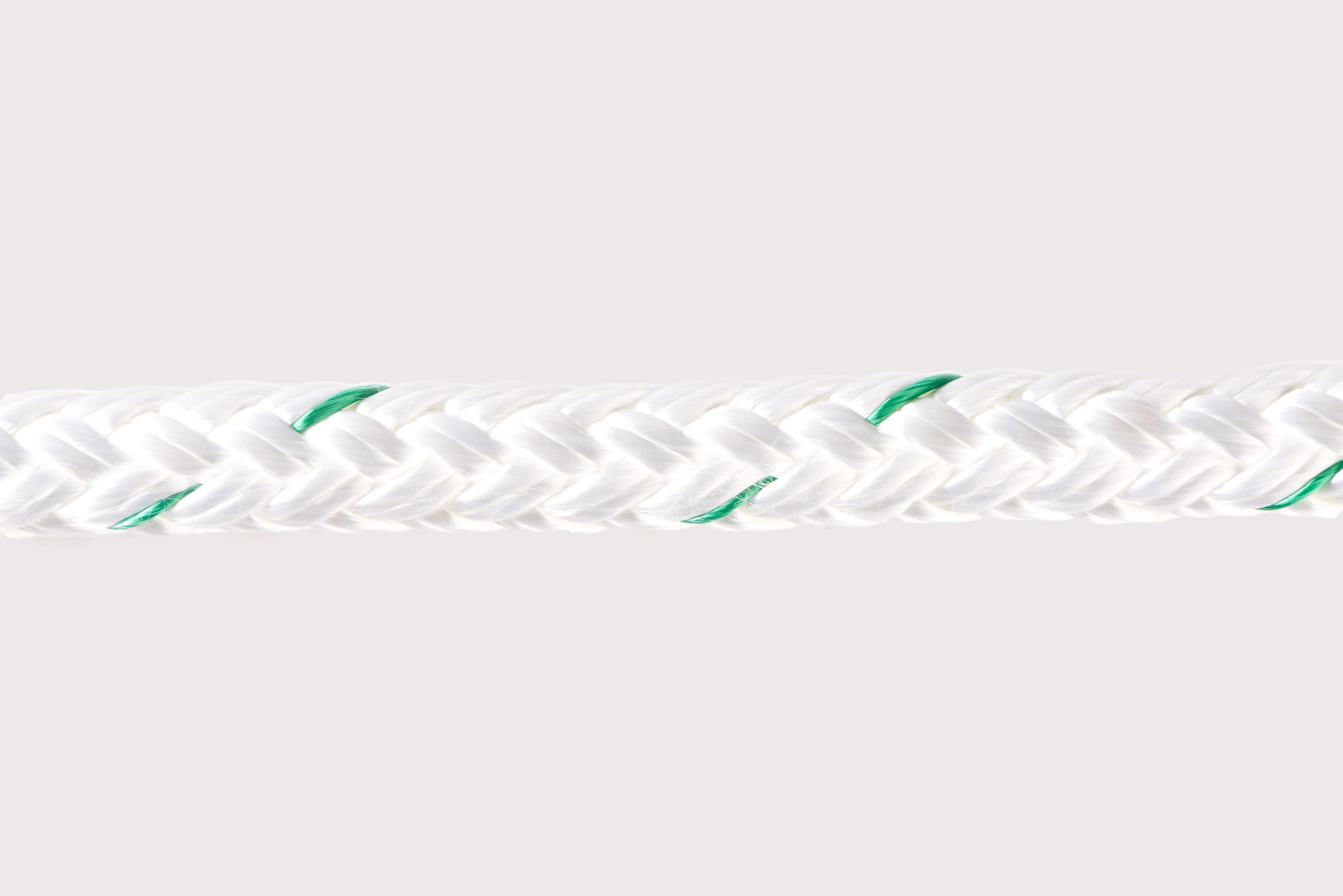 Orion-Cordage-Esterplex 12-Strand Polyester (Two-In-Train)-White I Green-Horizontal80.jpg