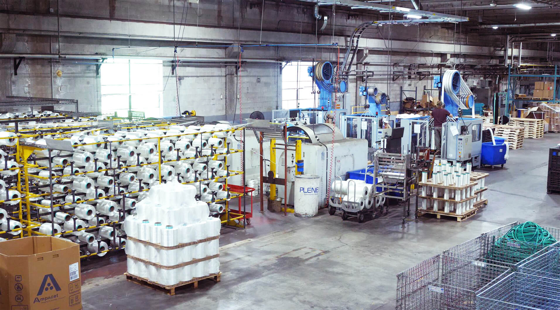 Orion Cordage rope warehouse