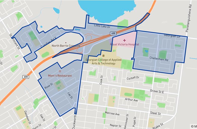 Maple Grove Public School neighbourhood borders