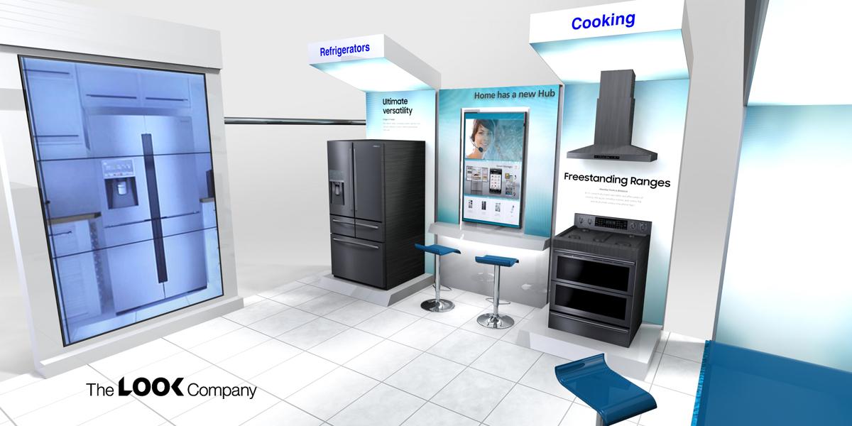 furniture appliance showroom design