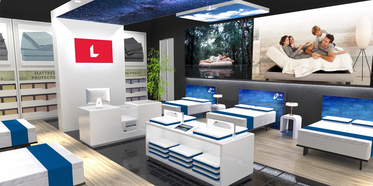 retail environment design for mattress retailers