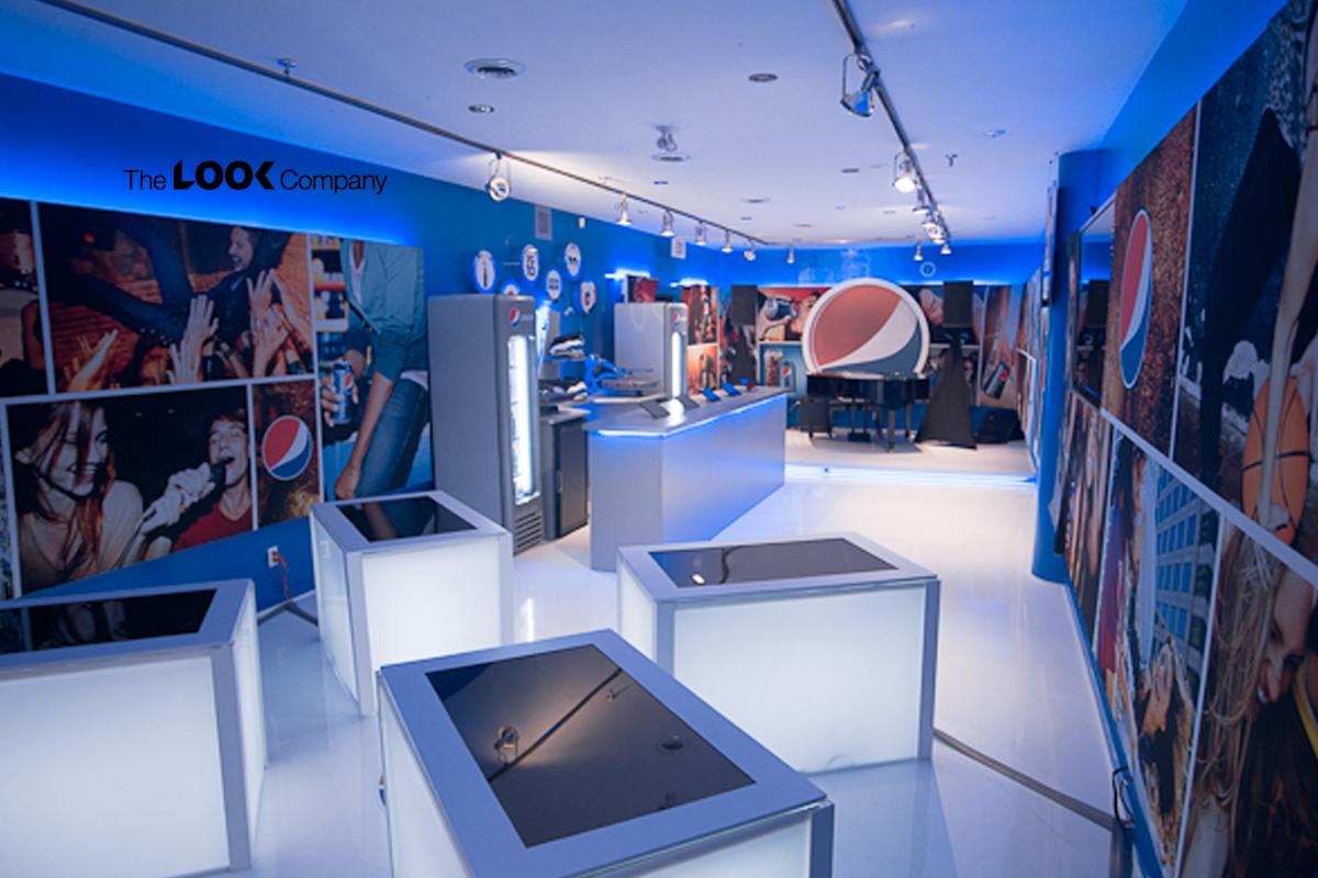 Pepsi Pop up store brand experience