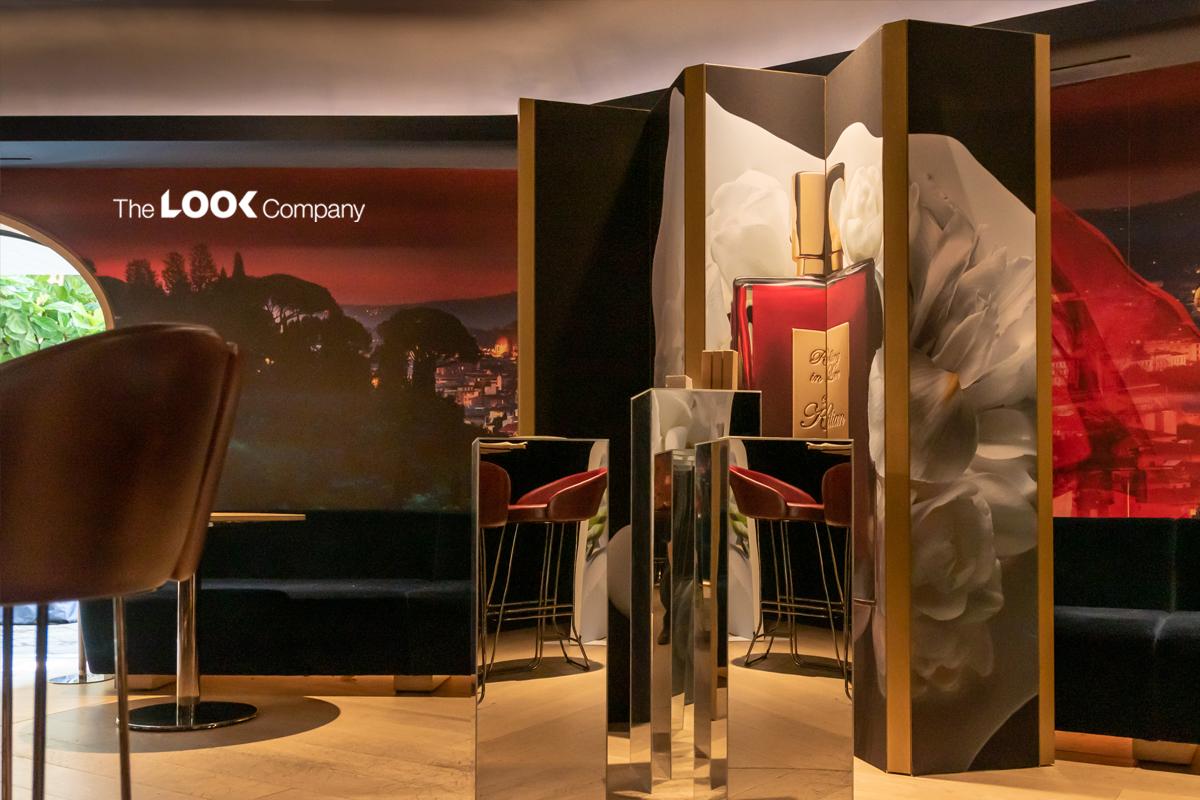 7 display ideas Killian Fragrance retail pop up holt renfrew