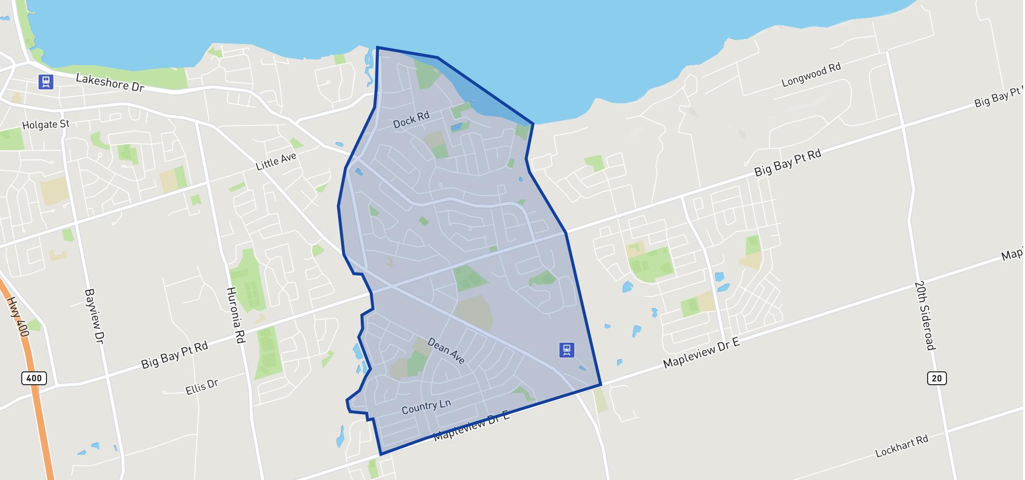 St. John Paul II Separate School neighbourhood borders