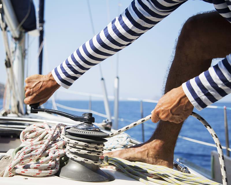 Example Pleasure Marine rope usage