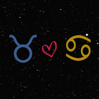 Kecocokan cinta zodiak taurus dan cancer