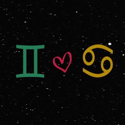 Kecocokan cinta zodiak gemini dan cancer