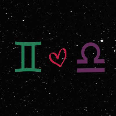 Kecocokan cinta zodiak gemini dan libra