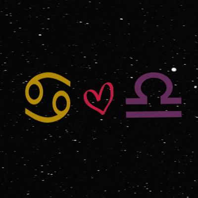 Kecocokan cinta zodiak cancer dan libra