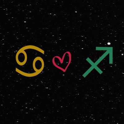 Kecocokan cinta zodiak cancer dan sagittarius