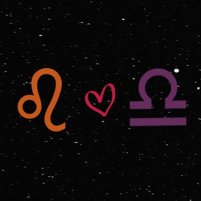 Kecocokan cinta zodiak leo dan libra