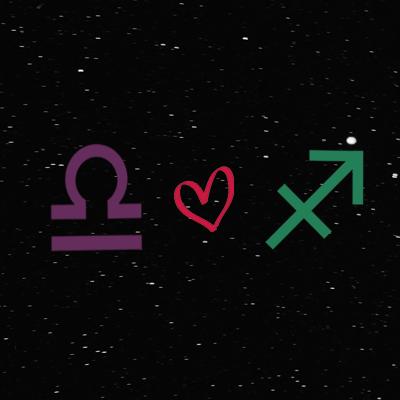 Kecocokan cinta zodiak libra dan sagittarius