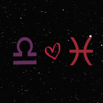 Kecocokan cinta zodiak libra dan pisces