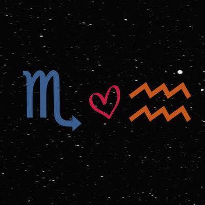 Kecocokan cinta zodiak scorpio dan aquarius