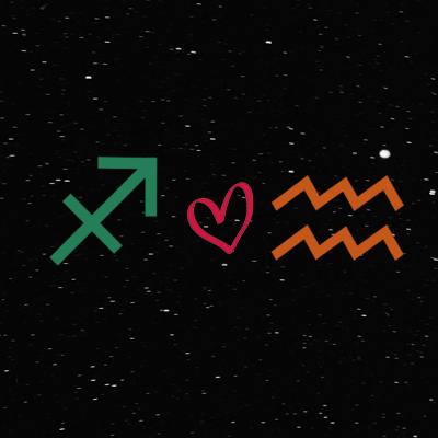 Kecocokan cinta zodiak sagittarius dan aquarius