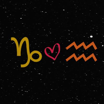 Kecocokan cinta zodiak capricorn dan aquarius