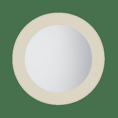 Moon 60 rundt speil med lys/antidugg