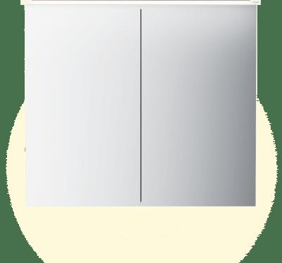 Variant Speilskap B80 med lysplate