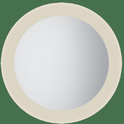Moon 80 rundt speil med lys/antidugg