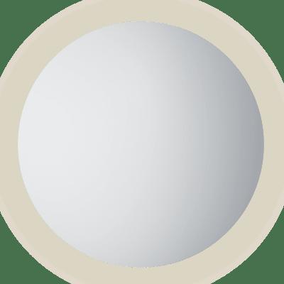 Moon 100 rundt speil med lys/antidugg