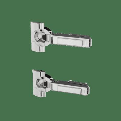 Hengsler m/int.demp/ fester (2 stk pk)