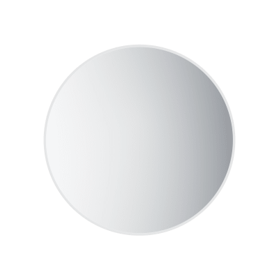Speil, rundt, Ø75 cm, frostet kant