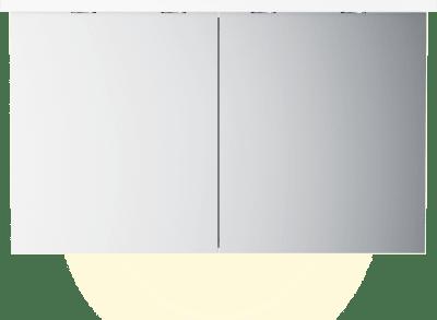 Variant Speilskap B120 med lystopp