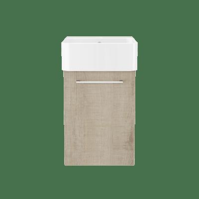 Vita B40 med porselen servant
