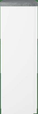 B30 s-skap Sort eik skrog/dør+Bet bp