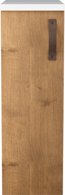 Variant Sideskap, bredde 30 cm, dybde 45 cm, 3 skap og Kunstmarmortopp