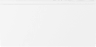 Hvit høyglans m/int. grep