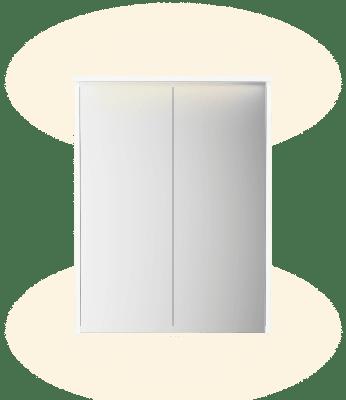 FORM Speilskap Hvit B63,2 D13,5 H80