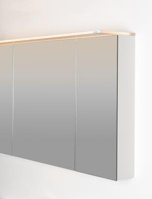 Variant speilskap B120 med lysplate