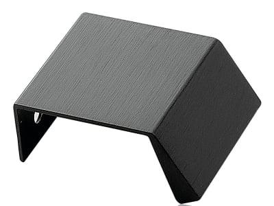 Grep 40mm børstet sort f/Sort eik, cc20mm