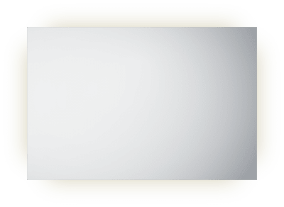 Frame 120 speil med lys/antidugg