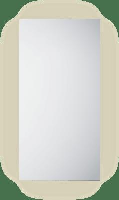 Frame 40 speil med lys/antidugg