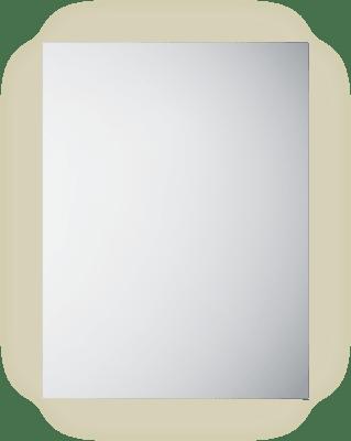 Frame 60 speil med lys/antidugg