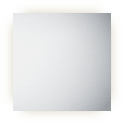 Frame 80 speil med lys/antidugg