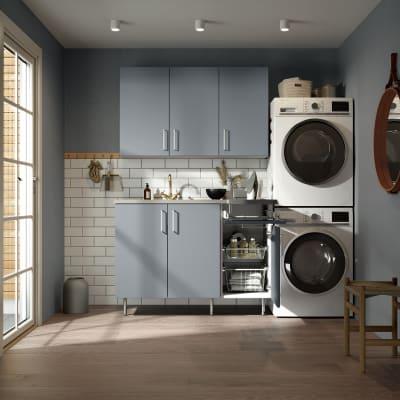 Vaskerom Miljø 180 cm m/Lys eik benkeplate